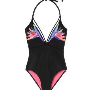 Victoria's Secret Pink One Piece Swim Paradise NWT